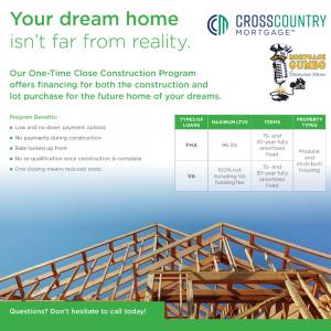 One Time Close Construction Program
