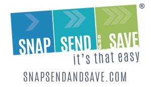Snap Send and Save Logo